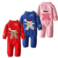 暖かい珊瑚フリースベビ-秋冬服 子供服ベビージャンパー 赤ちゃん衣類秋冬ベビー用品 コスチューム 柔らかもこもこ