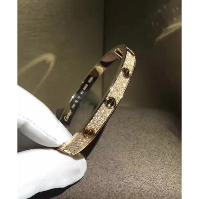 quality design d96a4 5614a CARTIER カルティエLOVE BRACELET, DIAMOND-PAVED LOVE ...
