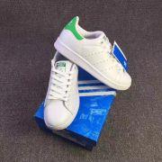 2017春新品 adidas Stan Smithアディダス スタンスミス  靴 36#-44# 高品質 White/ Green (白/緑)