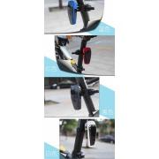 自転車ライト Bicycle Light Intelligent Night Cycling Light Charge Plug-In Lights 10LED Modes High Bright Waterproof Bicycle Back Head Lights Lamp $15.99