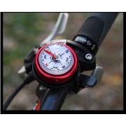 自転車ベル Bicycle Bell New Aluminum Compass Bicycle Bell Road Mountain Bike Alloy Compass Bell Sound High Quality Bike Handlebar Ring Horn $2.90