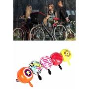 自転車ベル Bicycle Bell Bike Bell Cute Candy Colour Fexie Cycling Bell Lovely Horn Children Balance Bicycle Ring Bocina Bicicleta Alarma Sirena $5.60