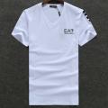 エンポリオアルマーニ EMPORIO ARMANI EA7 Tシャツ ブランド カットソー トップス 半袖 Vネック ティーシャツ T-Shirt Tee