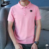 [USサイズ]ナイキ ポロシャツ メンズ ピンク/イエロー/ホワイト/グリーン/レッド ポリエステル100% M-3XL 前面左胸にメーカーロゴ