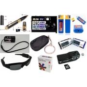 小型ビデオカメラ ボールペン型防犯カメラ 腕時計型カメラ ICレコーダ置時計型カメラ キー型カメラ