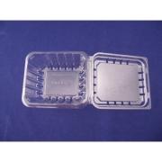 11オンス透明穴あけブルーベリー容器・プラスチックブルーベリー容器
