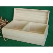 桐箱 仕切りある収納木箱