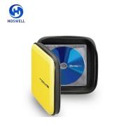 Blu-ray/ブルーレイディスク対応EVA素材のセミハードケース、24枚収納