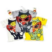 HYSTERIC MINI 子供服 Tシャツ 3カラーあり 日本語ラベル付け
