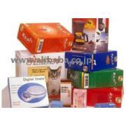 紙箱、カラー箱、カラーボックス、食品ボックス