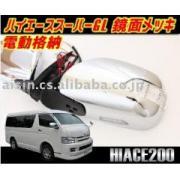 200系ハイエースS-GL/LED_Wウィンカーメッキミラー