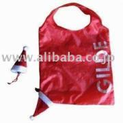 クリスマスギフトサンタクロース畳式エコバッグ