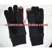 銀線維 伝導性 手袋
