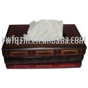 木製 ナプキン ボックス