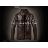 新しい到着のホットodmヌバックシアルコットパキスタンでバイクの革のジャケット